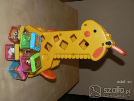 Zabawki Żyrafa firmy FISHER PRICE