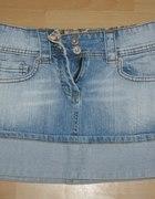 jeansowa spodniczka...