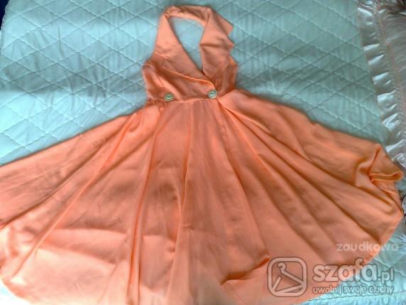 sukienka jak od Marilin Monroe S M