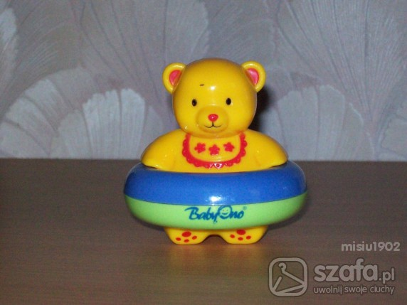 Zabawki BABY ONO Pływający Misiu do kąpieli i zabawy