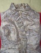 Sukienka złota lama