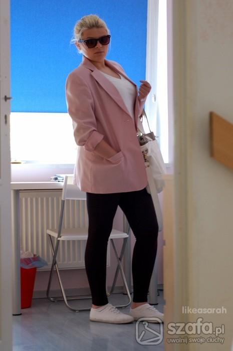 Mój styl pink jacket