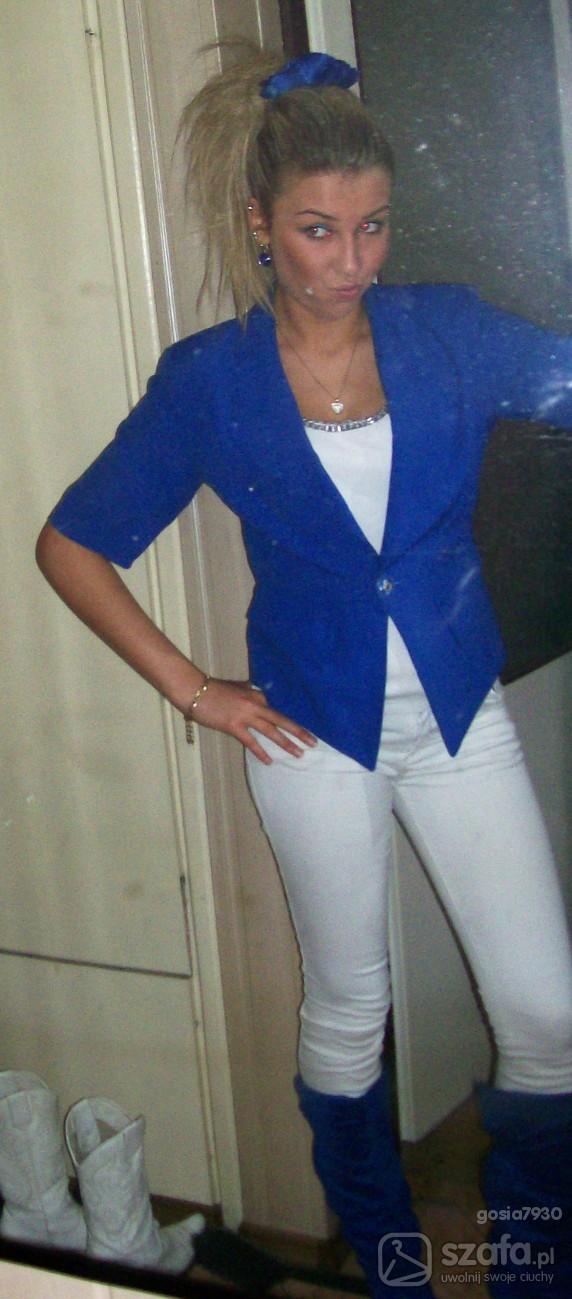 Mój styl kobaltowo
