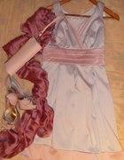 sukienka świadkowej