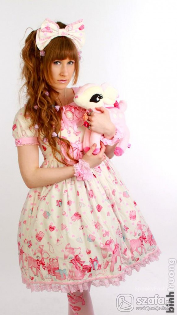 Mój styl Sweet Lolita
