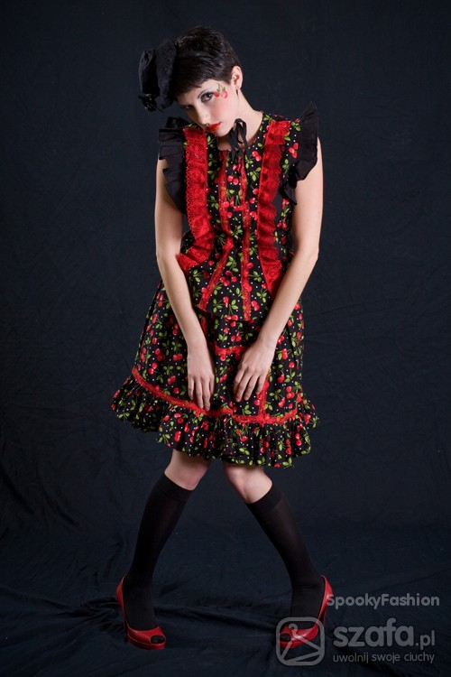 Mój styl Cherry Lolita