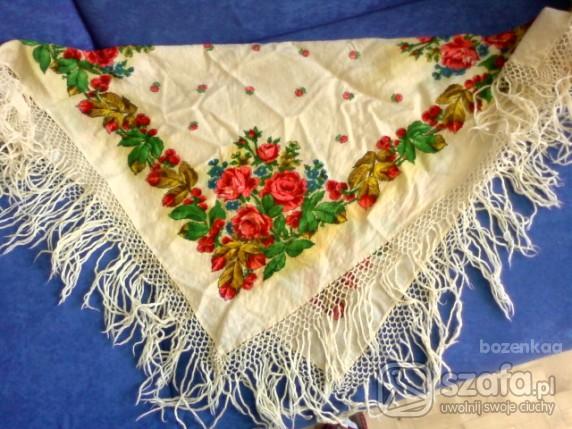 Chusty i apaszki chusta ludowa