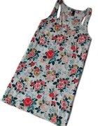 h and m top w kwiaty floral retro 36 38