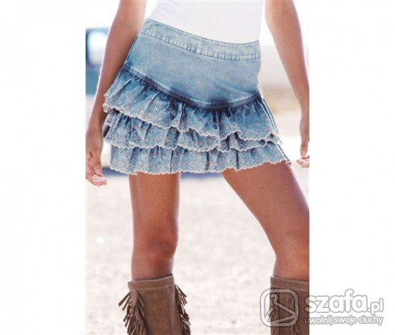 Spódnice Spódnica Jeansowa Mój Hit