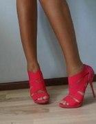 ZARA Nowe oryginalne sandałki różowe seksowne