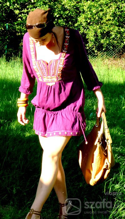 Mój styl fioletowo