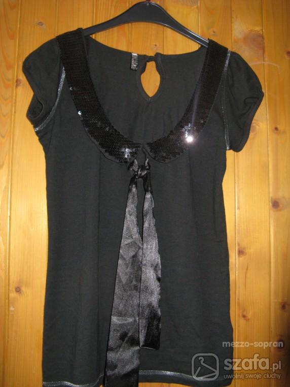 Mój styl Czarna super bluzeczka