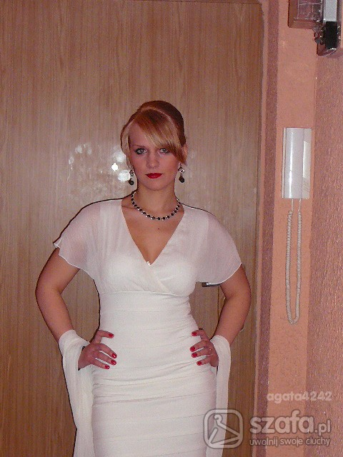 Eleganckie śliczna sukienka