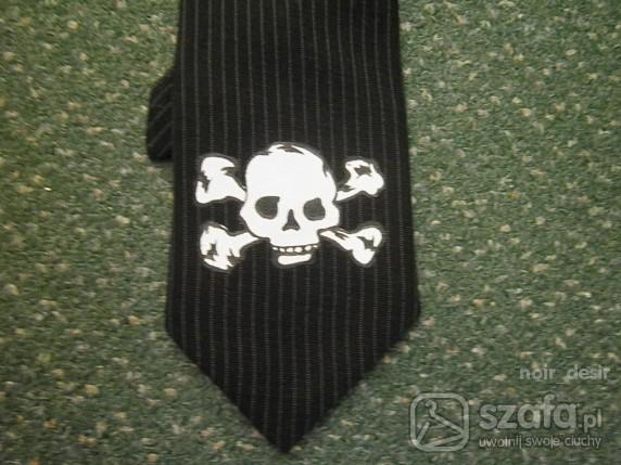 Pozostałe krawat z czaszką
