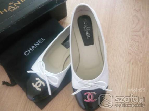 Baleriny Chanel 41 wkł 26cm