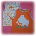 CHEROKEE 2 koszulki 80