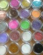 Brokat plus dziesięć szt fimo do każdego koloru