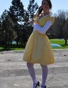 żółto i wiosennie