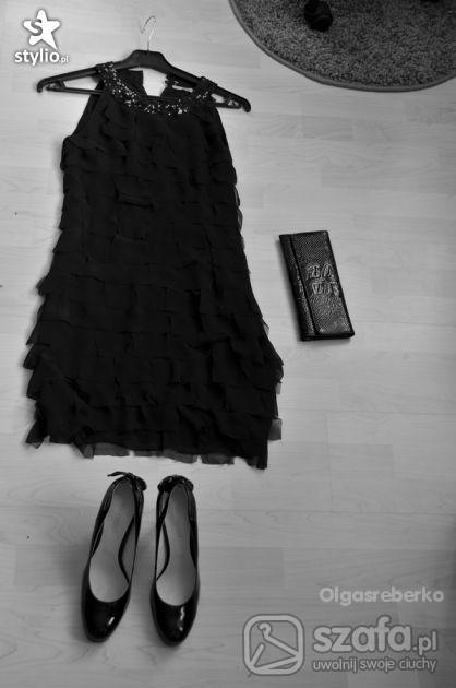 sukienka koktajlowa z ślubu cywilnego mojej sis...