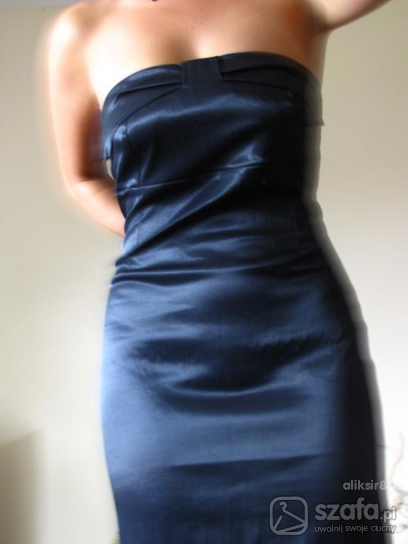 mała czarna Orsay piękna czarna sukienka