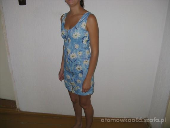 przerobka bluzki w sukienke zip