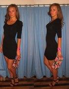 Sukienka z bufkami
