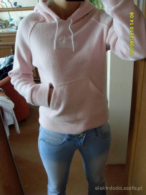 polar bluza różowa