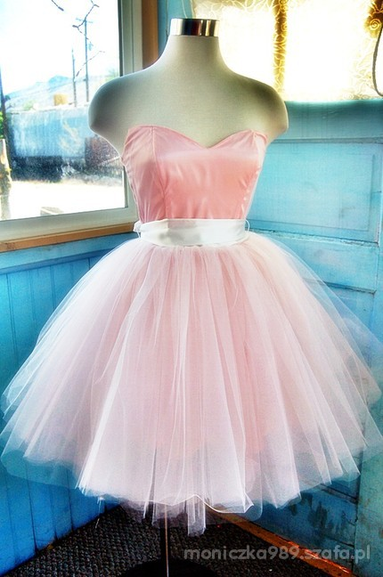 Romantyczne Sukienka ala ballerina