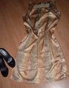 Sukienka złota na wesele