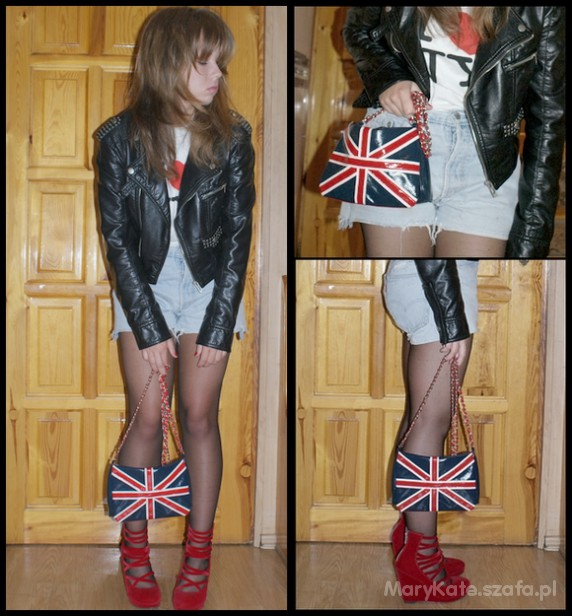 Mój styl rock girl