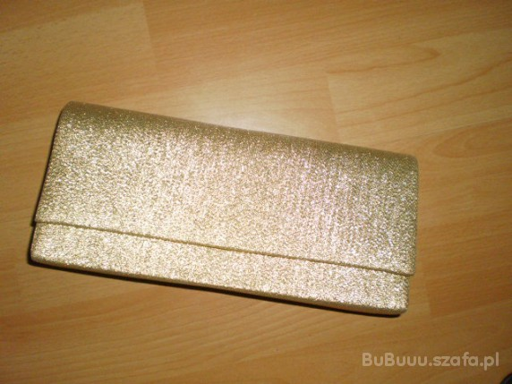 62503de61f021 złota brokatowa kopertówka w Torebki wieczorowe - Szafa.pl