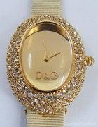 Dolce Gabana złoty zegarek
