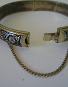 piękna bransoletka bogato zdobiona
