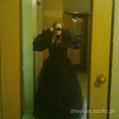 Mój styl stylizacja ala Victorian gothic aristocrat