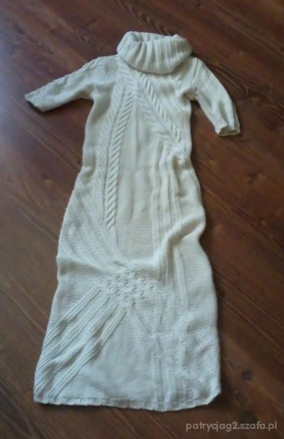 Sukienka Solar rozm M ciepła i długa w Suknie i sukienki