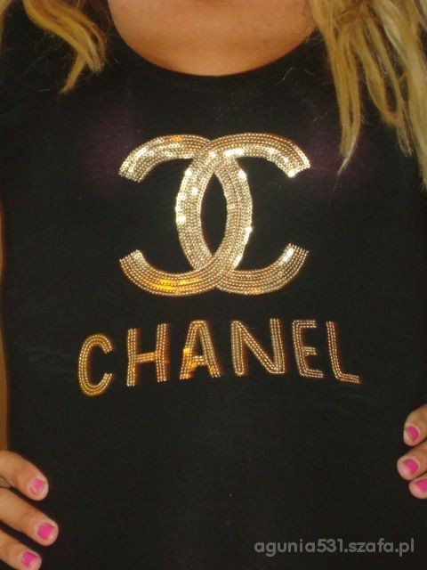 złoty Chanel