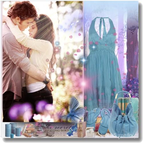 Romantyczne wspomnienie lata