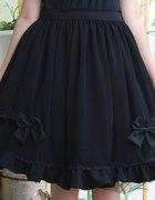 Czarna lolicia spódnica...