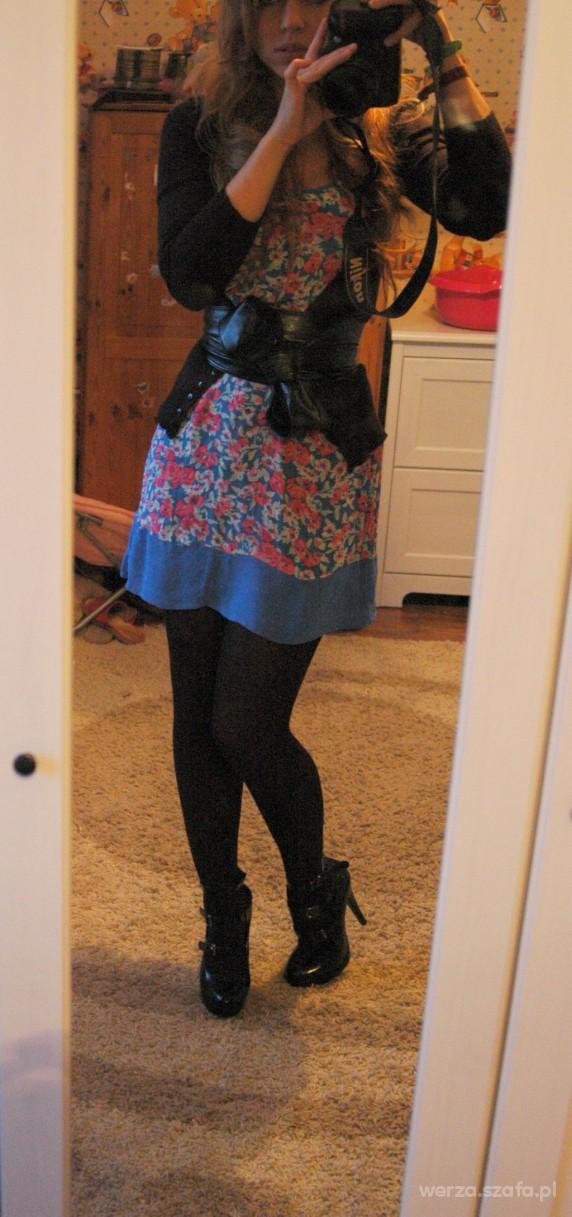 Mój styl kwiecista sukienka asos