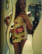 super sukienka floral h and m...