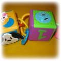 Zabawka edukacyjna kostki