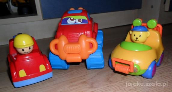 Zabawki trzy samochodziki