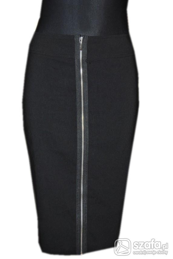 Spódnice Sexi spodnica z ozdobnym zamkiem 38