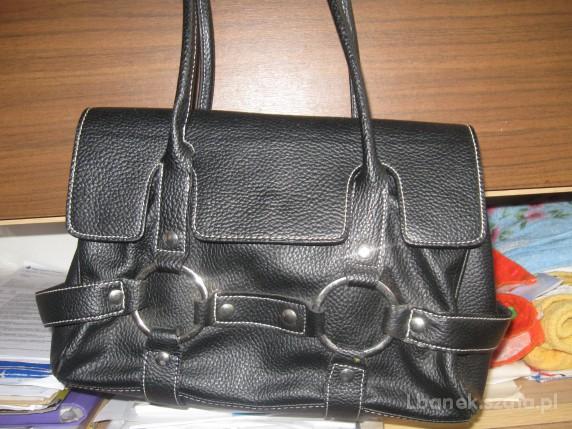 czrna elegancka torebka