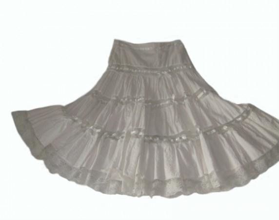 Super spódnica z wyższym stanem Country r 3436 w Spódnice
