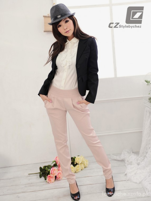 Haremki brudny róż alladynki Japan Style XS S