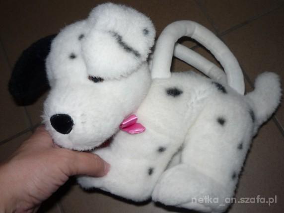 Zabawki NEXT torebeczka dalmatyńczyk