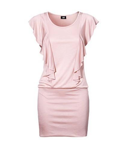 Suknie i sukienki Najnowszy zakup pudrowa