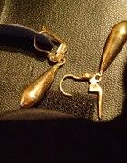 złote kolczyki 585 waga nie mniej niz 4g