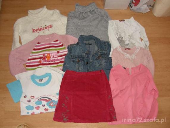 Komplety Zestaw ubranek dla dziewczynki 116 122